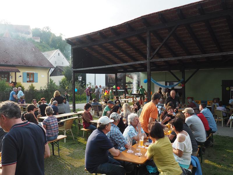 Biergartenfest in Moehren